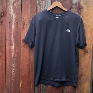 The north face men's short sleeve shirt